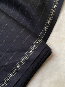 Vintage pinstripe fabric for suit #6079
