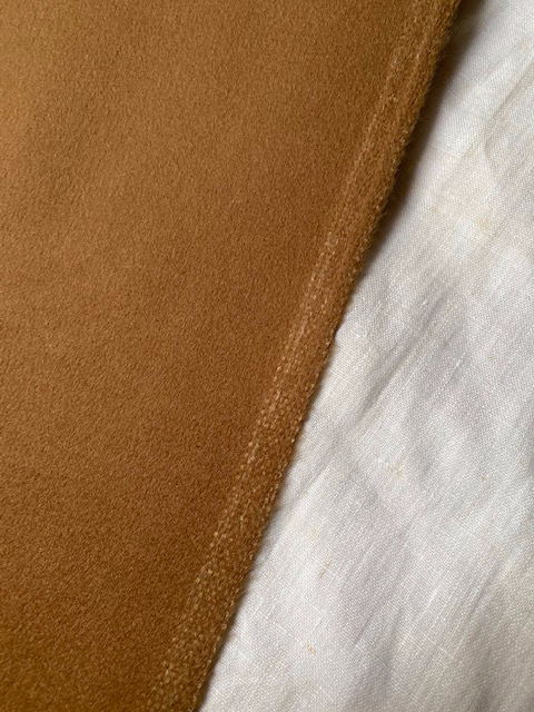 Vintage wool and cashmere fabric for coat #6031