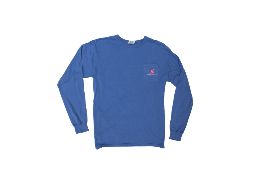 Island Time Long Sleeve Pocket T-Shirt (more colors)