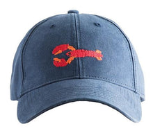 Load image into Gallery viewer, Peaks Island Needlepoint Baseball Hat