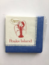 Load image into Gallery viewer, Peaks Island Cocktail Napkins