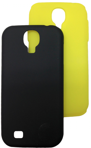 Black/Yellow Smoothie for Galaxy s4