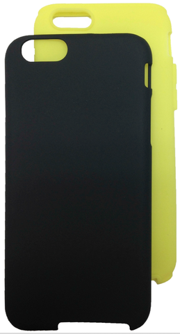 Black/Yellow Smoothie for iPhone 6