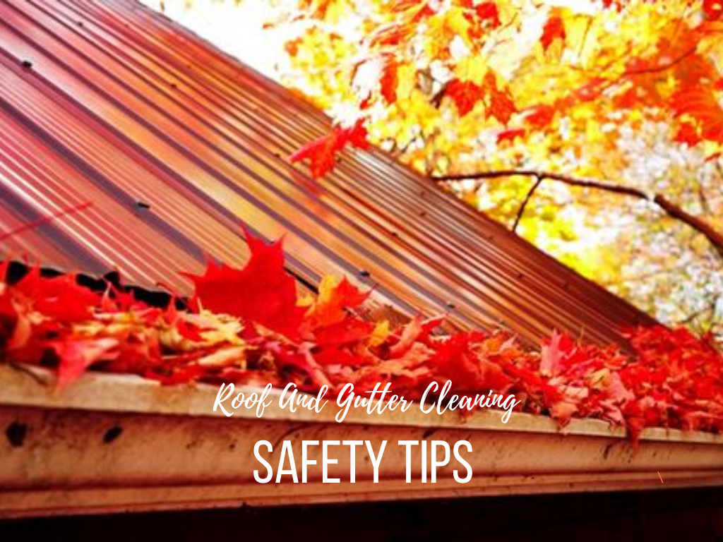Roof And Gutter Cleaning Safety Tips