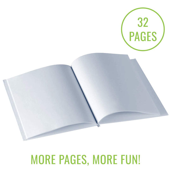 "Blank Books (Pack of 6) - 6"" x 8"""