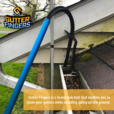 Gutter Fingers Gutter Cleaning Tool, New Innovation Eavestrough Cleaner