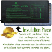 Germination heat mat