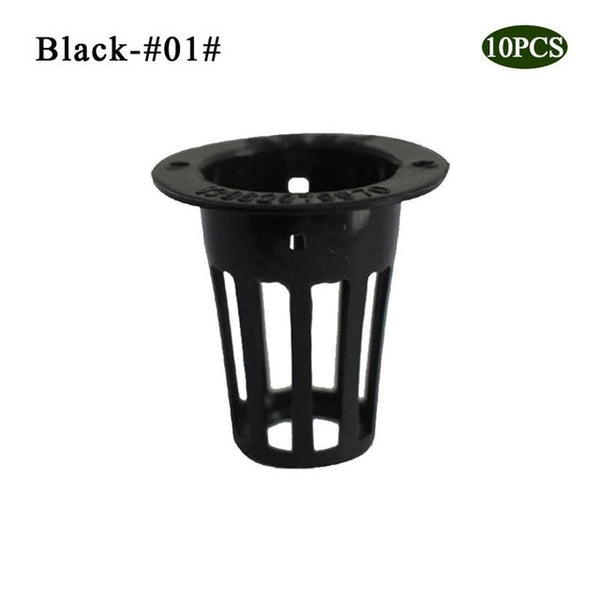 10 pcs/set Heavy Duty Mesh Pot Cup Basket Hydroponic Aeroponic Plant