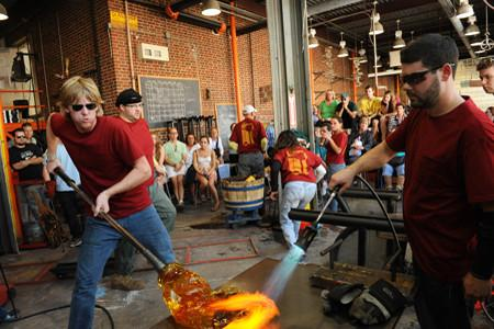 Glassblowing Party