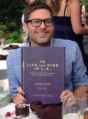 Josh Kun with To Live and Dine in L.A.