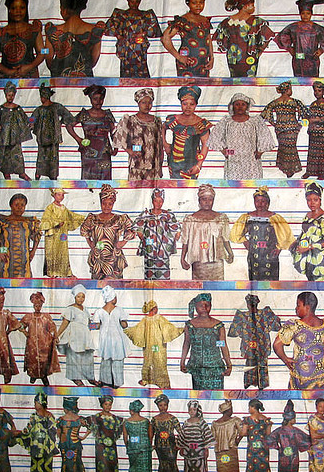 ORIGINAL ART & FASHION POSTERS FROM AFRICA