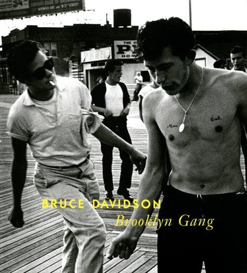 BROOKLYN GANG: BRUCE DAVIDSON- 1st Edition *SIGNED* PHOTOGRAPHY BOOK