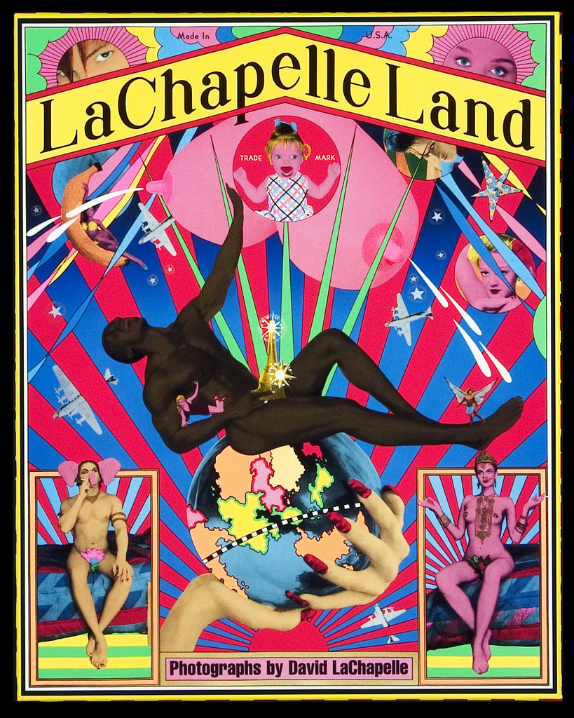 LACHAPELLE LAND: DAVID LACHAPELLE- 1st Edition PHOTOGRAPHY BOOK- 1996 First Printing Number 46453