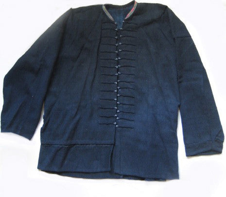 NORTHERN THAILAND LISU HILL TRIBE JACKET – BLACK, VINTAGE, TRADITIONAL, RARE