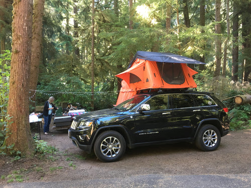 Making camp cozy in the Olympic National Forest (Ruggedized Series Autana 4 with annex) Gallery Item