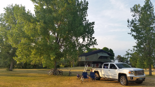 Family went on a road trip/camping through South Dakota. The kids and wife love the tent! Gallery Item
