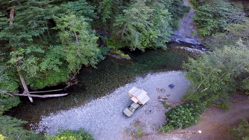 One of many Northern California camping spots. Loving this tent! Gallery Item