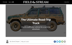 The Ultimate Road-Trip Truck: How to outfit your vehicle for a summer adventure