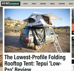The Lowest-Profile Folding Rooftop Tent: Tepui 'Low-Pro' Review