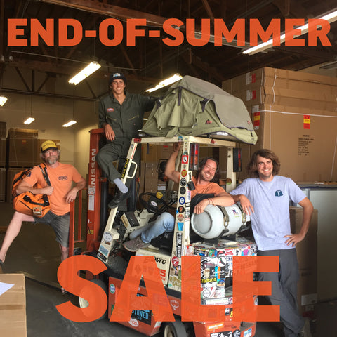 Tepui's End-of-Summer Warehouse sale!