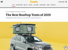 2019 SUMMER BUYER'S GUIDE The Best Rooftop Tents of 2019