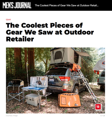 Tepui Press: Men's Journal- The Coolest Gear We Saw At Outdoor Retailer 2018