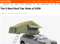 The 5 Best Roof Top Tents of 2018