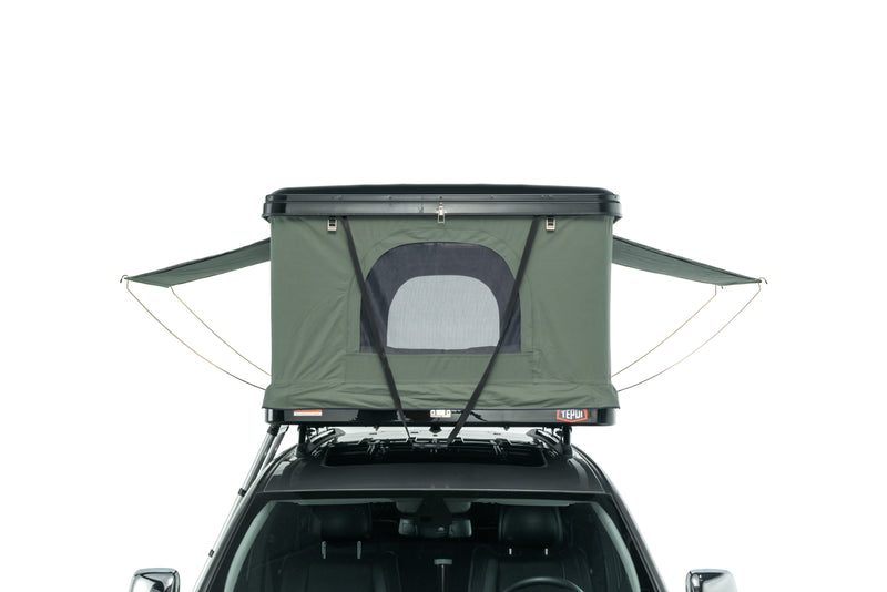 Tepui HyBox Black Shell with Green Canopy