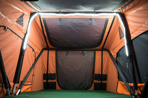 8ft Orange/White Easy Fit Light & Accessories u2013 Tepui Tents | Roof Top Tents for Cars and Trucks