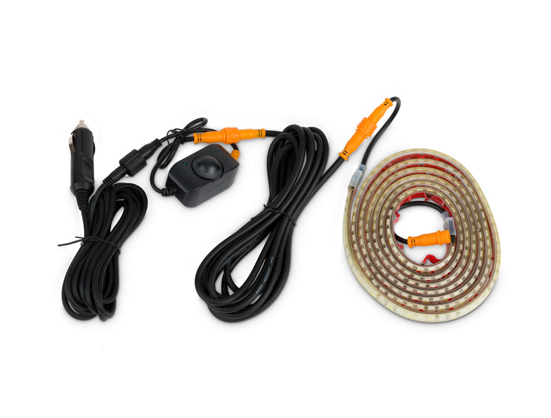 2M Orange & White High-Powered LED Strip Light Kit 2M Orange & White High-Powered LED Strip Light Kit