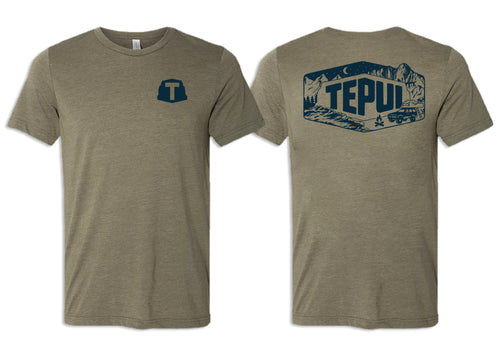 Tepui Off the Grid Tee: Olive Green