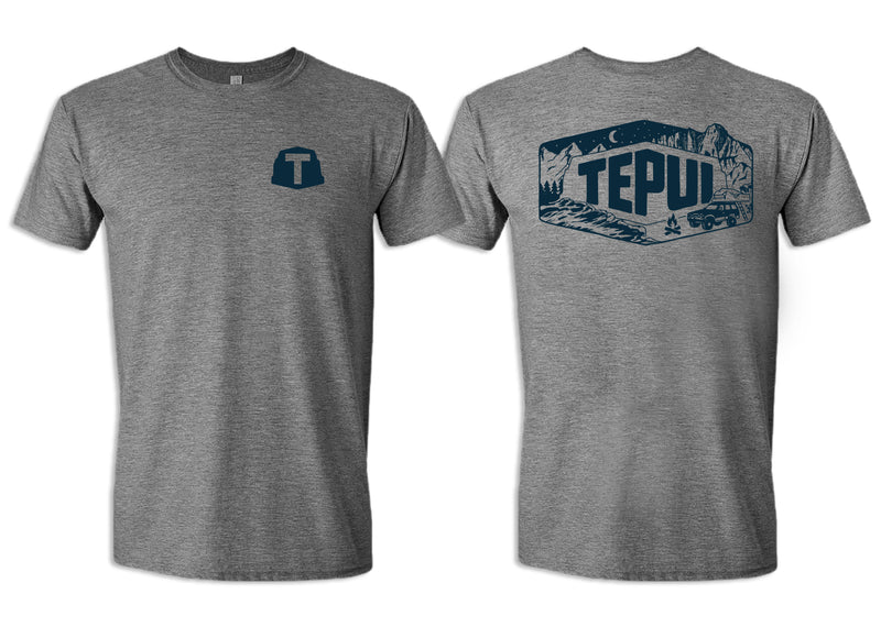 Tepui Off the Grid Tee: Gray Tepui Off the Grid Tee: Gray