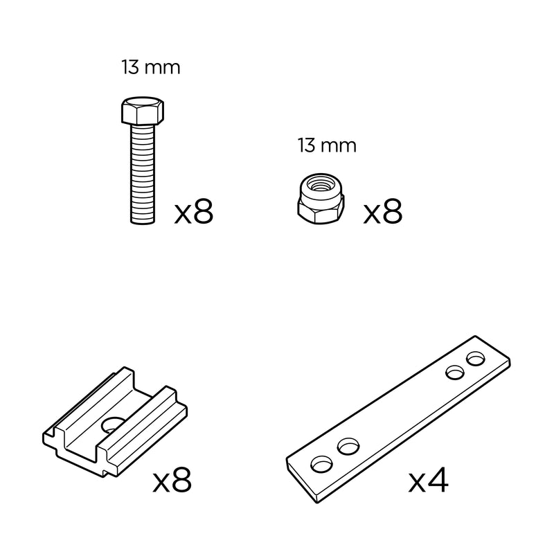 Spare Parts for Low-Pro 3 Low-Pro Mounting Kit