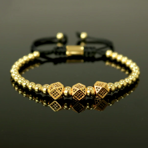 Roll A Dice And Luck Up Bracelet