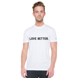 Love Better v. 2 Men's T-Shirt - White