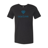 One Love Unisex Facilitator T-Shirt - Navy