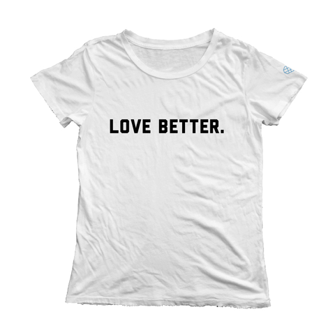 Love Better v. 2 Short Sleeve Tee - White