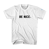 Be Nice v. 2 Men's T-Shirt - White
