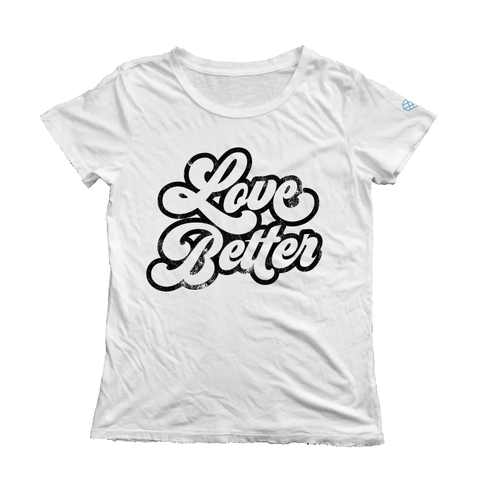 Love Better Short Sleeve Tee - White