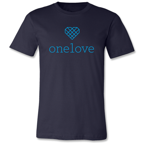 One Love Unisex Performance Shirt - Navy