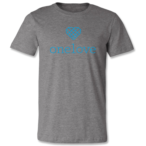 One Love Unisex Performance Shirt - Sport Grey
