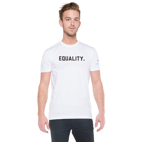 Equality Men's T-Shirt - White