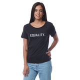 Equality Short Sleeve Tee - Black