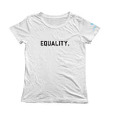 Equality Short Sleeve Tee - White