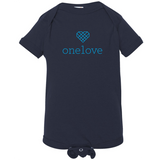 One Love Onesie - Navy Blue