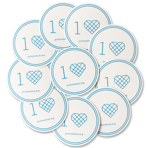 One Love Sticker 10 Pack