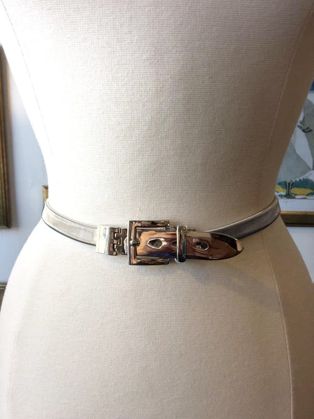 Stretch Metallic Belt