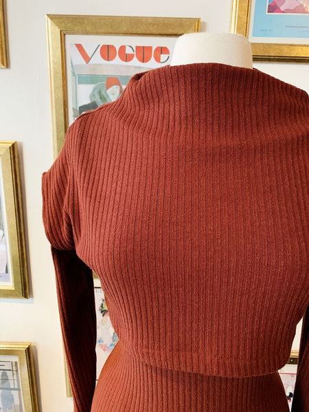 Double Layer Top - Rusty Red