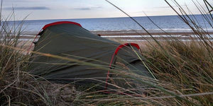 How to pitch your tent in high winds