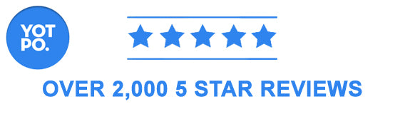 Over 2000 5 Star Reviews
